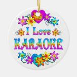 Amo Karaoke Adornos De Navidad