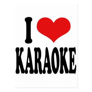 Amo Karaoke Postales