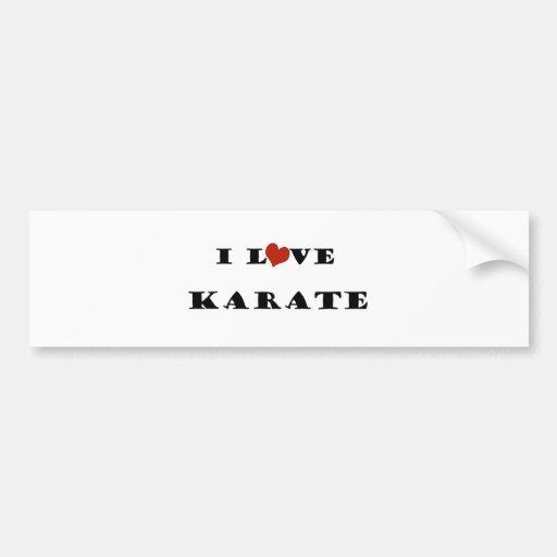 Amo Karate.png Pegatina Para Auto