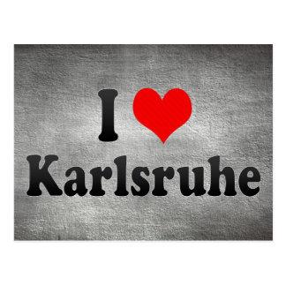 Amo Karlsruhe Alemania Postales