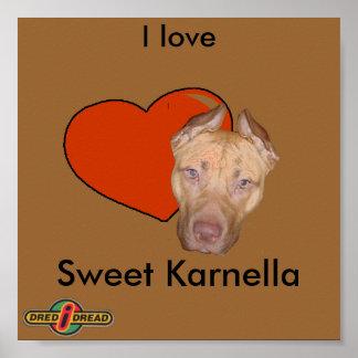 Amo Karnella dulce Poster