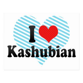 Amo Kashubian Tarjetas Postales