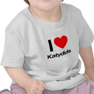 amo katydids camisetas