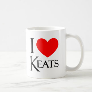 Amo Keats Taza Clásica
