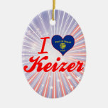 Amo Keizer, Oregon Ornamento De Reyes Magos