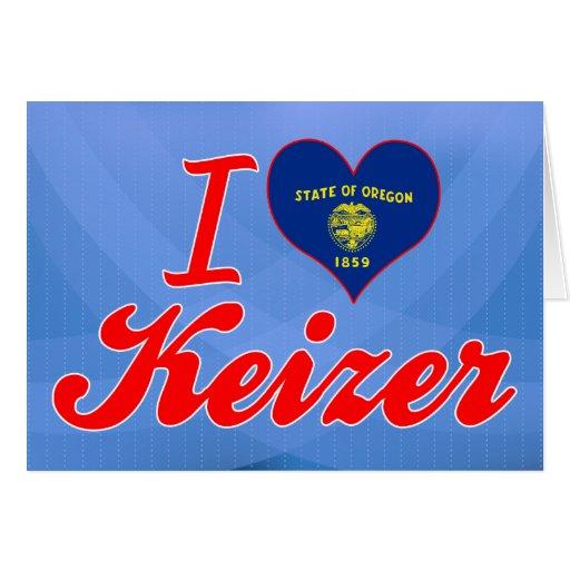 Amo Keizer, Oregon Tarjetón
