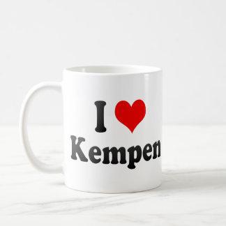 Amo Kempen, Alemania. Ich Liebe Kempen, Alemania Tazas De Café