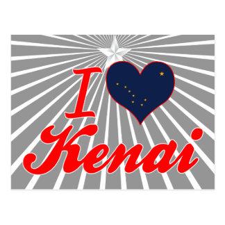 Amo Kenai, Alaska Tarjeta Postal