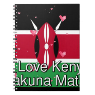 ¡Amo! Kenia Hakuna Matata Cuaderno