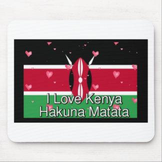 ¡Amo! Kenia Hakuna Matata Tapetes De Ratones