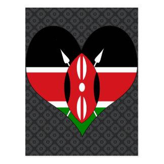 Amo Kenia Tarjetas Postales