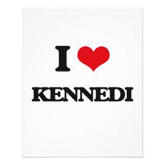 Amo Kennedi Folleto 11,4 X 14,2 Cm