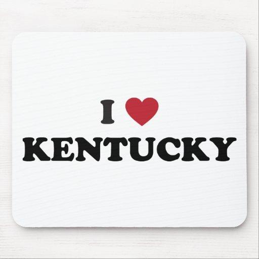 Amo Kentucky Alfombrilla De Ratón