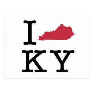 Amo Kentucky Tarjetas Postales