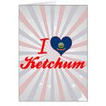 Amo Ketchum, Idaho Felicitacion
