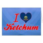 Amo Ketchum, Idaho Tarjetas