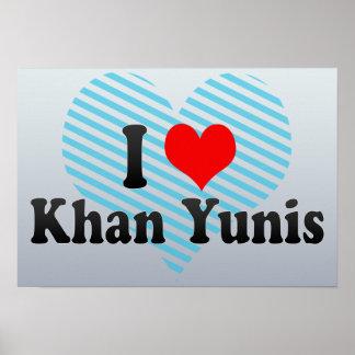 Amo Khan Yunis, territorio palestino Póster