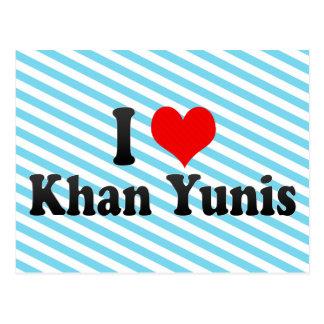 Amo Khan Yunis, territorio palestino Postales