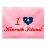 Amo Kiawah Island, Carolina del Sur Postales