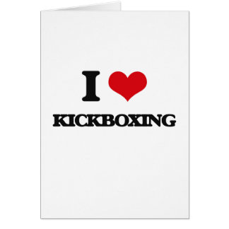 Amo Kickboxing Felicitación