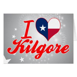 Amo Kilgore, Tejas Felicitación