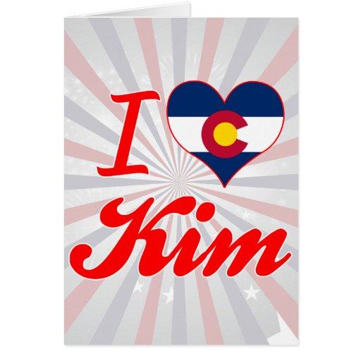 Amo Kim, Colorado Felicitacion
