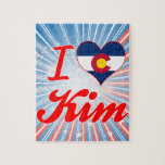 Amo Kim, Colorado Rompecabeza Con Fotos