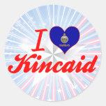 Amo Kincaid, Kansas Etiqueta Redonda