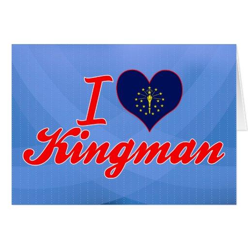 Amo Kingman, Indiana Tarjetas
