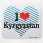Amo Kirguistán Tapete De Ratones