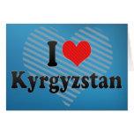 Amo Kirguistán Tarjeton