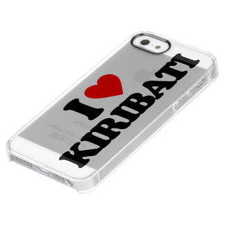 AMO KIRIBATI FUNDA CLEARLY™ DEFLECTOR PARA iPhone 5 DE UNCOMMON