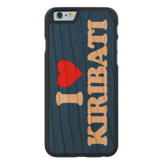 AMO KIRIBATI FUNDA DE iPhone 6 CARVED® DE CEREZO
