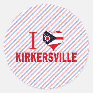 Amo Kirkersville Ohio Pegatina