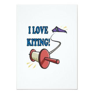 """Amo Kiting Invitación 5"""" X 7"""""""