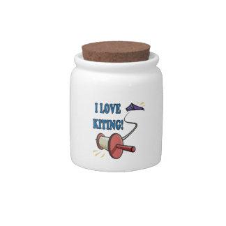 Amo Kiting Jarras Para Caramelos