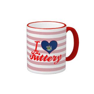 Amo Kittery, Maine Tazas