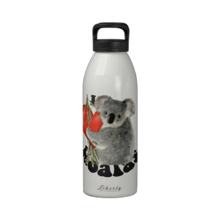 Amo koalas botella de beber