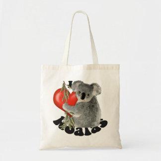 Amo koalas bolsas