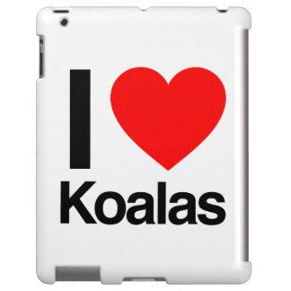 amo koalas funda para iPad
