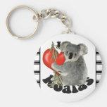Amo koalas llaveros