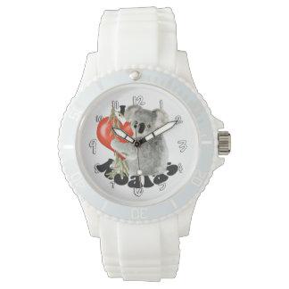 Amo koalas relojes