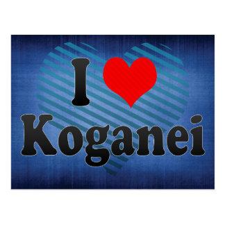 Amo Koganei, Japón. Aisuru Koganei, Japón Postales