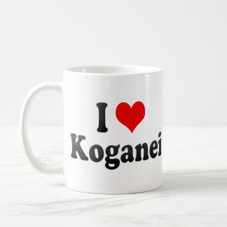 Amo Koganei, Japón. Aisuru Koganei, Japón Taza Clásica