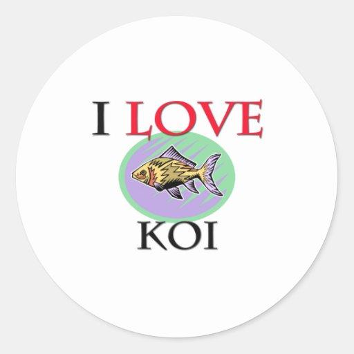 Amo Koi Etiqueta