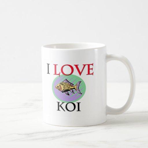 Amo Koi Tazas De Café