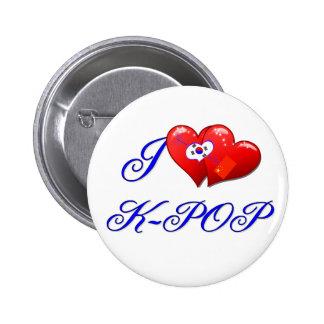 AMO KPOP PIN REDONDO 5 CM