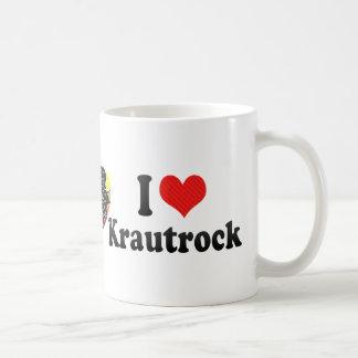 Amo Krautrock Taza Clásica