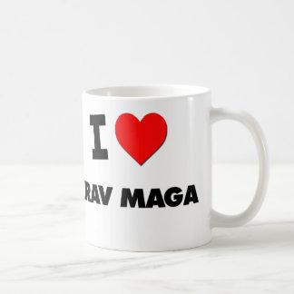 Amo Krav Maga Tazas De Café