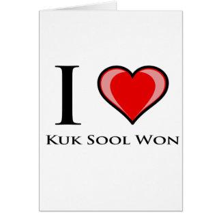 Amo Kuk Sool ganado Tarjeta De Felicitación